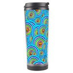 Digital Art Circle About Colorful Travel Tumbler Right