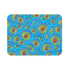 Digital Art Circle About Colorful Double Sided Flano Blanket (mini)  by Nexatart