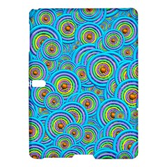Digital Art Circle About Colorful Samsung Galaxy Tab S (10 5 ) Hardshell Case  by Nexatart