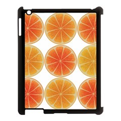 Orange Discs Orange Slices Fruit Apple Ipad 3/4 Case (black) by Nexatart
