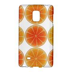 Orange Discs Orange Slices Fruit Galaxy Note Edge by Nexatart