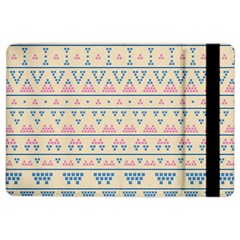 Blue And Pink Tribal Pattern Ipad Air 2 Flip