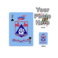 Flag Of Haifa Playing Cards 54 (mini)  by abbeyz71