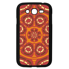 Dark Red Abstract Samsung Galaxy Grand Duos I9082 Case (black) by linceazul