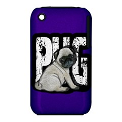 Pug Iphone 3s/3gs by Valentinaart