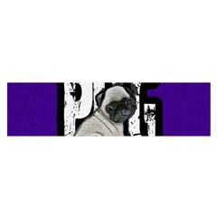 Pug Satin Scarf (oblong)