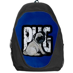 Pug Backpack Bag by Valentinaart