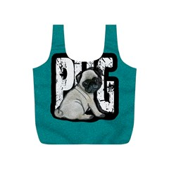 Pug Full Print Recycle Bags (s)