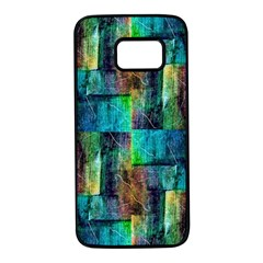 Abstract Square Wall Samsung Galaxy S7 Black Seamless Case by Costasonlineshop