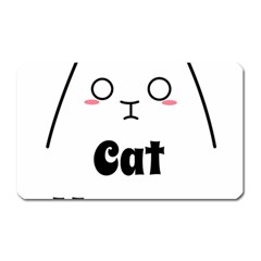 Love My Cat Mommy Magnet (rectangular) by Catifornia