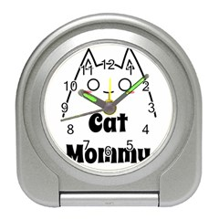 Love My Cat Mommy Travel Alarm Clocks by Catifornia