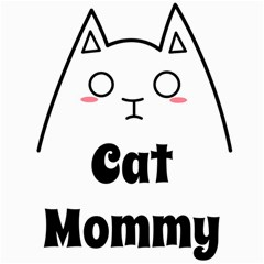 Love My Cat Mommy Canvas 20  X 20   by Catifornia