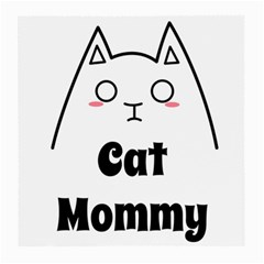 Love My Cat Mommy Medium Glasses Cloth (2 Side) by Catifornia