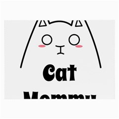 Love My Cat Mommy Large Glasses Cloth (2 Side) by Catifornia