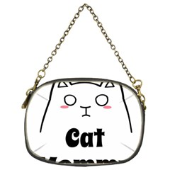 Love My Cat Mommy Chain Purses (two Sides)  by Catifornia