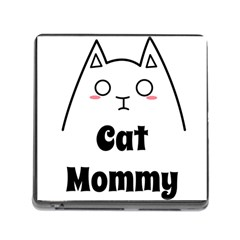 Love My Cat Mommy Memory Card Reader (square) by Catifornia