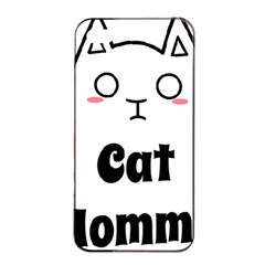 Love My Cat Mommy Apple Iphone 4/4s Seamless Case (black) by Catifornia