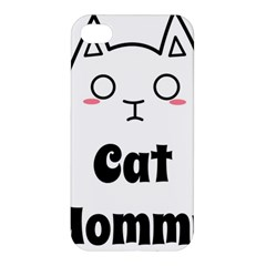 Love My Cat Mommy Apple Iphone 4/4s Premium Hardshell Case by Catifornia