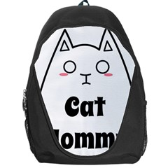 Love My Cat Mommy Backpack Bag by Catifornia