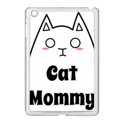 Love My Cat Mommy Apple Ipad Mini Case (white) by Catifornia