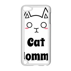Love My Cat Mommy Apple Ipod Touch 5 Case (white) by Catifornia