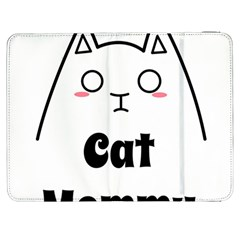 Love My Cat Mommy Samsung Galaxy Tab 7  P1000 Flip Case by Catifornia