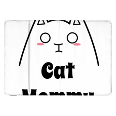 Love My Cat Mommy Samsung Galaxy Tab 8 9  P7300 Flip Case by Catifornia