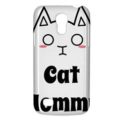Love My Cat Mommy Galaxy S4 Mini by Catifornia