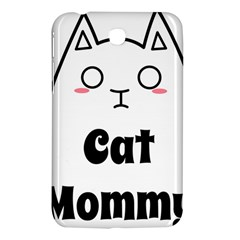 Love My Cat Mommy Samsung Galaxy Tab 3 (7 ) P3200 Hardshell Case