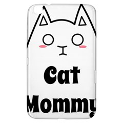 Love My Cat Mommy Samsung Galaxy Tab 3 (8 ) T3100 Hardshell Case  by Catifornia