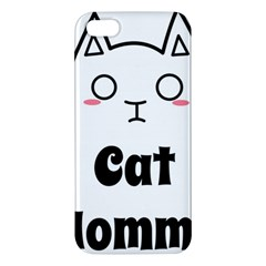 Love My Cat Mommy Iphone 5s/ Se Premium Hardshell Case by Catifornia