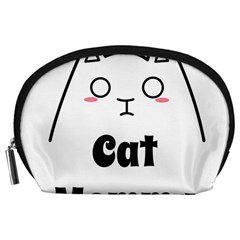 Love My Cat Mommy Accessory Pouches (large)  by Catifornia