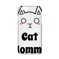 Love My Cat Mommy Apple Iphone 6/6s Hardshell Case by Catifornia