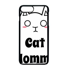 Love My Cat Mommy Apple Iphone 7 Plus Seamless Case (black) by Catifornia
