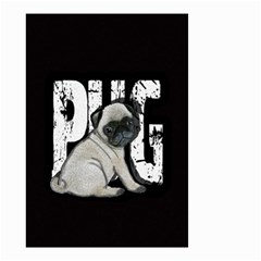 Pug Small Garden Flag (two Sides) by Valentinaart