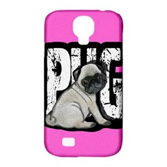 Pug Samsung Galaxy S4 Classic Hardshell Case (pc+silicone) by Valentinaart