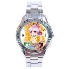 Easter Bunny Girl Stainless Steel Analogue Watch by Catifornia