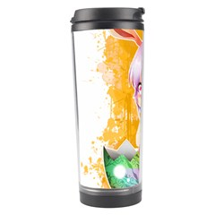 Easter Bunny Girl Travel Tumbler by Catifornia