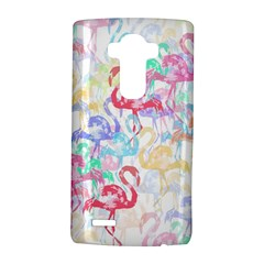 Flamingo Pattern Lg G4 Hardshell Case by Valentinaart