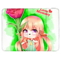 Happy Mother s Day Furry Girl Samsung Galaxy Tab 7  P1000 Flip Case by Catifornia