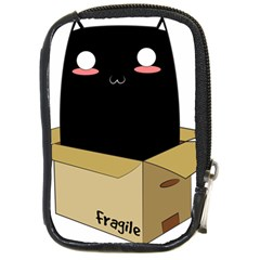 Black Cat In A Box Compact Camera Cases by Catifornia