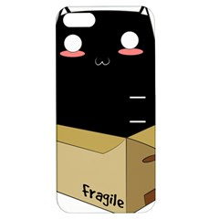 Black Cat In A Box Apple Iphone 5 Hardshell Case With Stand by Catifornia