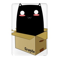 Black Cat In A Box Samsung Galaxy Tab Pro 12 2 Hardshell Case by Catifornia