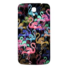Flamingo Pattern Samsung Galaxy Mega I9200 Hardshell Back Case by Valentinaart