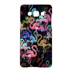 Flamingo Pattern Samsung Galaxy A5 Hardshell Case  by Valentinaart