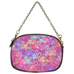 Flamingo pattern Chain Purses (Two Sides)  Front