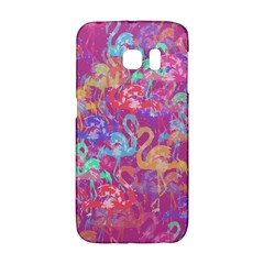 Flamingo Pattern Galaxy S6 Edge by Valentinaart
