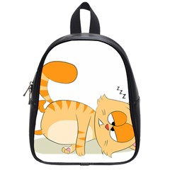 Even Cat Hates Monday School Bags (small)  by Catifornia