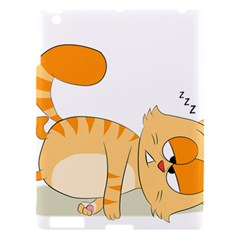 Even Cat Hates Monday Apple Ipad 3/4 Hardshell Case by Catifornia