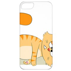 Even Cat Hates Monday Apple Iphone 5 Classic Hardshell Case by Catifornia